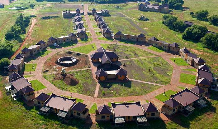 Urocza Emoya w Bloemfontein , RPA, źródło: Internet